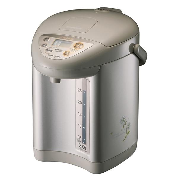 ★象印★3.0L微電腦三段定溫電熱水瓶 CD-JUF30-CT
