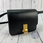BRAND楓月 CELINE 黑BOX SMALL 黑色 小款 豆腐包 盒子包 單肩包 斜背包