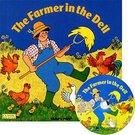 【麥克書店】FARMER IN THE DELL / 書+CD