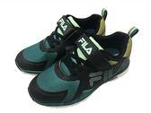 『雙惠鞋櫃』★ FILA ★綠 康特杯 網布透氣 另有粉、藍色可選 慢跑運動休閒鞋 ★ (3-J801R-061) 黑綠