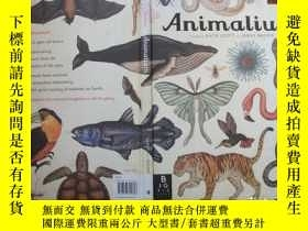二手書博民逛書店Animalium罕見(Welcome To The Museu