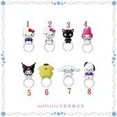 asdfkitty可愛家☆SANRIO 小黑貓3號全身造型 戒指-分售-歐美正版商品