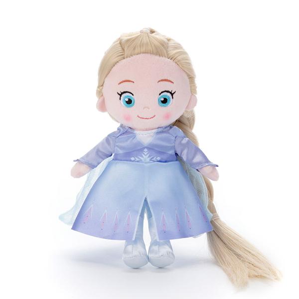 T-ARTS 冰雪奇緣2 艾莎梳髮絨毛娃娃_TA21753