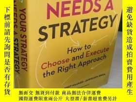 二手書博民逛書店Your罕見Strategy Needs a Strategy: How to Choose and Execut