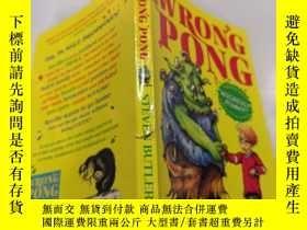 二手書博民逛書店THE罕見WRONG PONG 錯誤的乒乓球Y212829