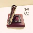 義大利 Bortoletti PPE02 白銅+木質筆擱 21513770153892  / 個