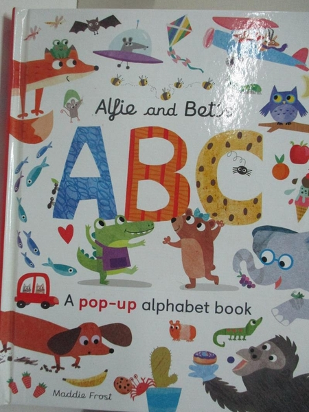 【書寶二手書T7/少年童書_EKW】Alfie and Bet s ABC_Patricia Hegarty