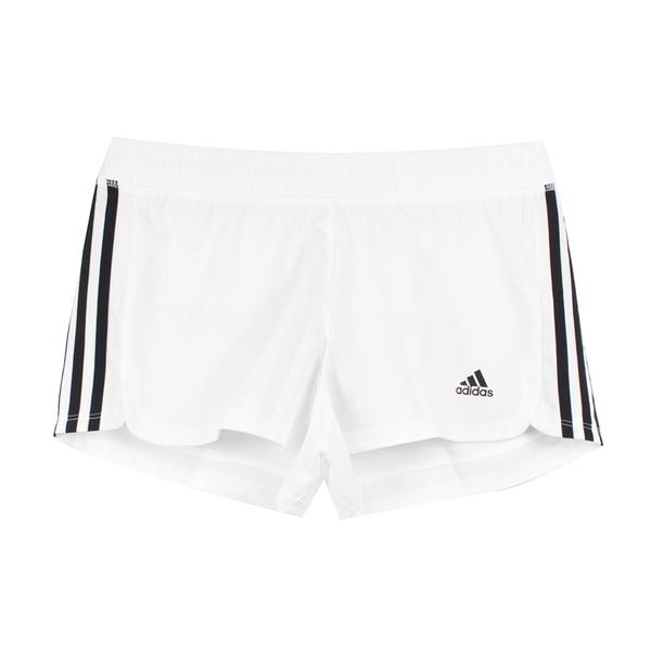 ADIDAS 女 PACER 3S WVN 運動短褲 - DU3508