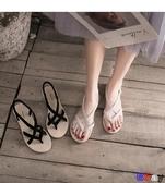 Bbay 夾腳涼鞋 涼鞋 交叉綁帶 波西米亞 平底鞋子