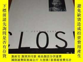 二手書博民逛書店2手英文罕見Chuck Close 1988-95 查剋剋勞斯