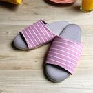 台灣製造-療癒系-舒活布質室內拖鞋-玫瑰...