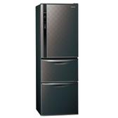 Panasonic國際牌385公升三門變頻冰箱NR-C389HV-K星空黑