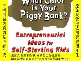 二手書博民逛書店What罕見Colour Is Your Piggy Bank?Y255562 Linecker, Adeli
