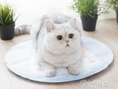 貓咪冰墊寵物涼席夏天降溫貓用墊子不黏毛貓窩耐咬地墊狗涼墊降溫 小城驛站