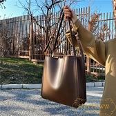 托特包女大容量時尚休閒質感單肩包【繁星小鎮】