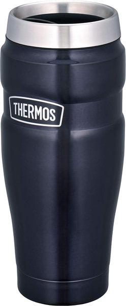 THERMOS【日本代購】戶外系列 真空隔熱平底杯470ml ROD-001-二色