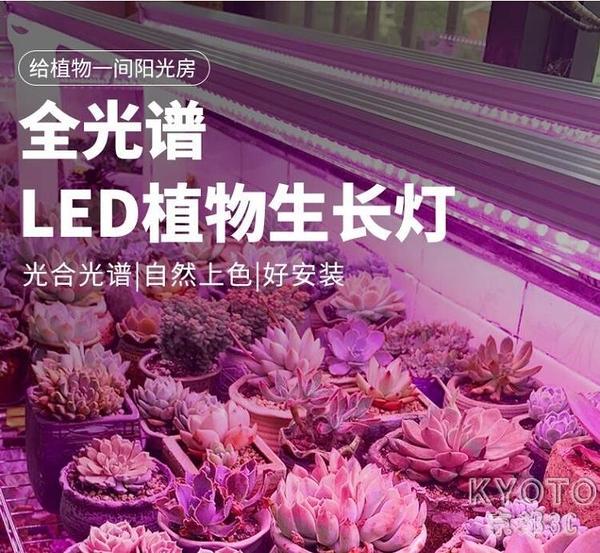多肉補光燈上色全光譜led家用室內花卉層架仿太陽植物 【快速出貨】