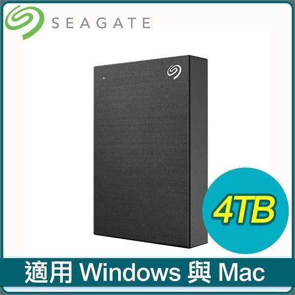 【南紡購物中心】Seagate 希捷 Backup Plus Portable 4TB 2.5吋 USB3.0 外接硬碟(STHP4000400)《黑》