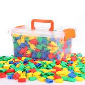 火箭子彈頭積木玩具早教益智兒童拼插塑料幼兒園3-6-7-8周歲男孩【快速出貨八折優惠】