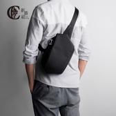 胸包男正韓腰包潮包側背包男士單肩包挎包小背包休閒包防水男包包
