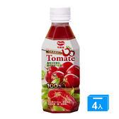 可果美 O Tomata 100%蕃茄汁280ml*4【愛買】