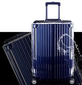 透明箱套加厚耐磨防水行李箱保護套旅行拉桿箱子防塵罩24/26/28寸 向日葵