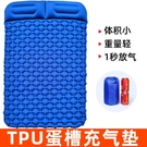 TPU蛋槽充氣墊戶外帳篷睡墊雙人超輕便攜氣墊床防潮墊露營地墊 黛尼時尚精品