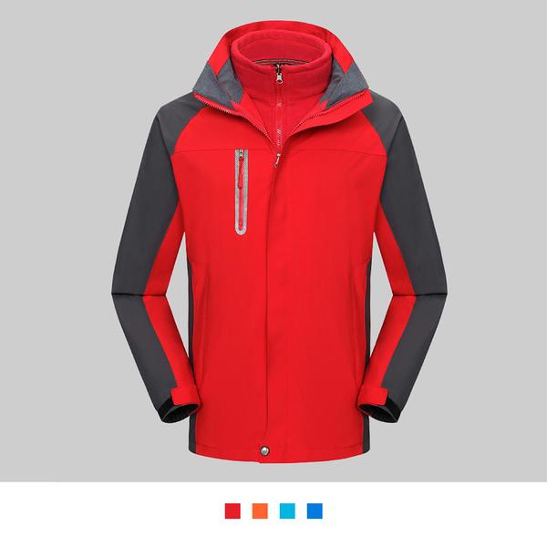 【晶輝團體制服】SS1918*經典二件式防風防潑水衝鋒外套(似GORE-TEX)可單買/ 代印公司LOGO