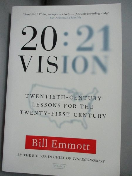 【書寶二手書T4/歷史_HCG】20:21 Vision: Twentieth-Century Lessons for