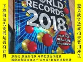 二手書博民逛書店GUINNESS罕見WORLD RECORDS 世界吉尼斯紀錄2018版 英語百科Y235893