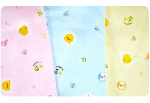 【奇買親子購物網】黃色小鴨綿羊版半高領連身裝6M/12M(藍/粉/黃)