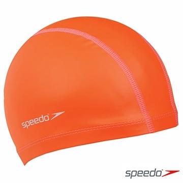 【線上體育】SPEEDO成人 合成泳帽 Pace 橘