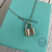 BRAND楓月 TIFFANY&CO. 蒂芬妮 銀色鎖頭項鍊 首飾 墜鍊 配件 精品 配飾