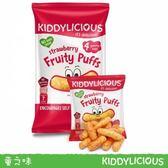 Kiddylicous 英國童之味 原裝進口-果味泡芙條 草莓口味40g[衛立兒生活館]