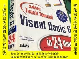 二手書博民逛書店Sams罕見Teach Yourself Visual Basi