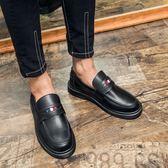 簡約套腳男鞋 一腳蹬休閒鞋【五巷六號】x273