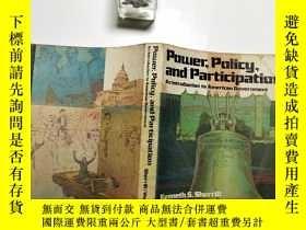二手書博民逛書店【英文原版】Pouier罕見Policy and Partici