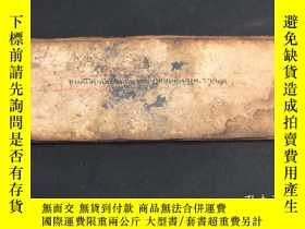 二手書博民逛書店11..罕見6頁 清代 手抄手給 藏族佛教經書,宗教符號符咒經書