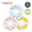 NAIB 奈比 新版嬰兒游泳脖圈(粉色/淺綠色/黃色)[衛立兒生活館]