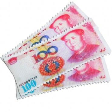 JoyLife 超值3入錢滿滿可重複防霉除濕袋~人民幣80克