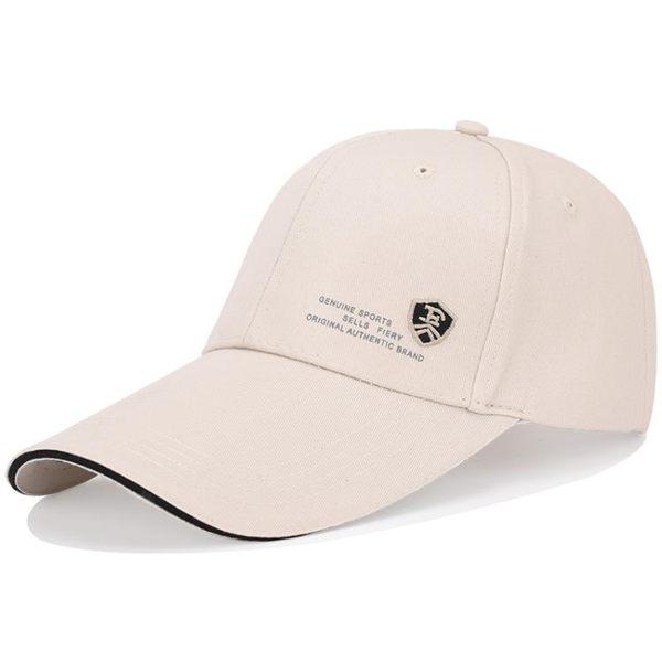 棒球帽帽子男夏天棒球帽正韓潮運動太陽帽青年遮陽防曬帽百搭鴨舌嘻哈帽