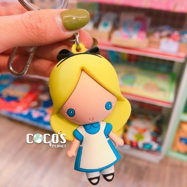 香港迪士尼 公主系列 愛麗絲夢遊仙境 愛麗絲 吊飾 鑰匙圈 掛飾 COCOS DK450