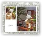 仿真舔毛小灰貓美麗諾羊毛羊毛氈材料包、可製作成手機吊飾、小裝飾(純羊毛製品)