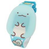 〔小禮堂〕角落生物 恐龍 造型矽膠錶帶電子兒童手錶《綠.坐姿》休閒錶.腕錶.電子錶 4549479-03916