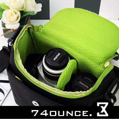 74盎司@[G-260] 日系繽紛色系單眼多隔層相機包((小)) CANON 550D Pentax Sony Nikon