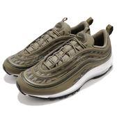 Nike Air Max 97 AOP 綠 黑 虎紋迷彩 氣墊 男鞋 經典款 【PUMP306】 AQ4132-200