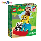 玩具反斗城  LEGO樂高 得寶系列 10884 我的第一套動物疊疊樂