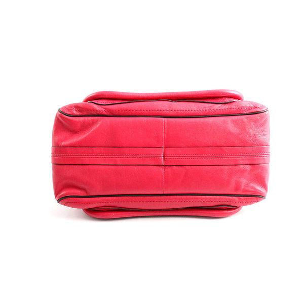 【CHLOE】寬背背帶中型 paraty 兩用包 (酒紅色)  3S0034 593