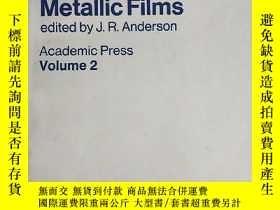 二手書博民逛書店Chemisorption罕見and Reactions on Metallic Films VOLUME 2(金