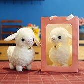 毛絨玩具 新款超萌可愛仿真小羊毛絨玩具布娃娃羊駝公仔擺件兒童生日禮物女【快速出貨】